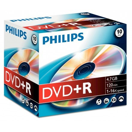 DVDs virgens Philips DR4S6J10C/10