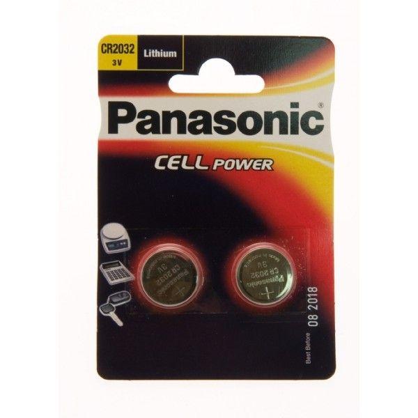 Pilhas não-recarregáveis Panasonic CR2032L/1BP