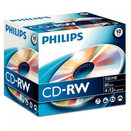 CD virgem Philips CW7D2NJ10