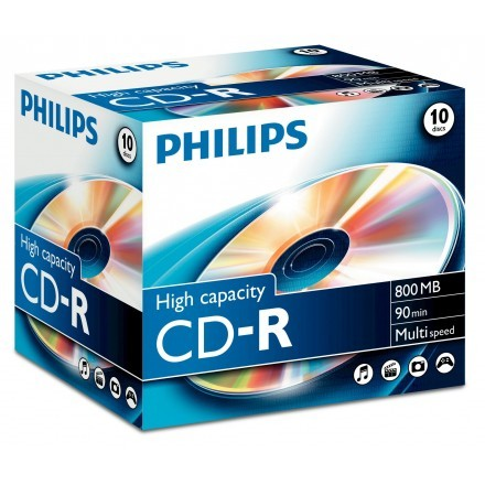 CDs virgens Philips CR8D8NJ10/00
