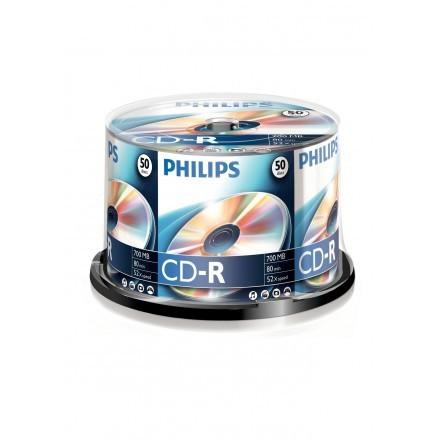 CDs virgens Philips CR7D5NB50/00