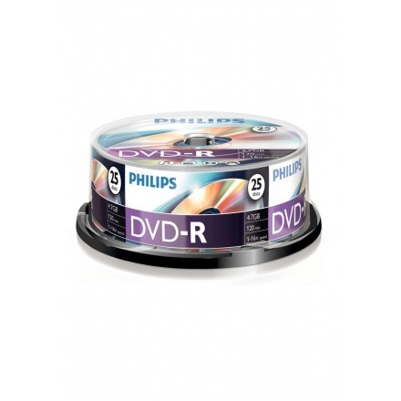 DVDs virgens Philips DM4S6B25F/00