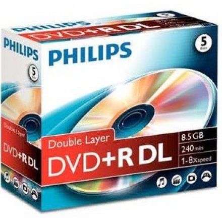 DVDs virgens Philips DR8S8J05C
