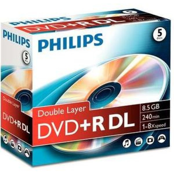 DVDs virgens Philips 8710895992114