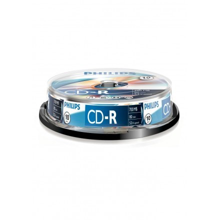 CDs virgens Philips CR7D5NB10/00