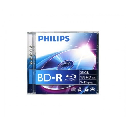 Discos de Blu-Ray virgens Philips 8712581528638