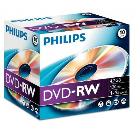 DVDs virgens Philips DN4S4J10C/00