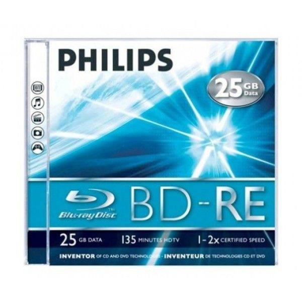 Discos de Blu-Ray virgens Philips 8712581528652