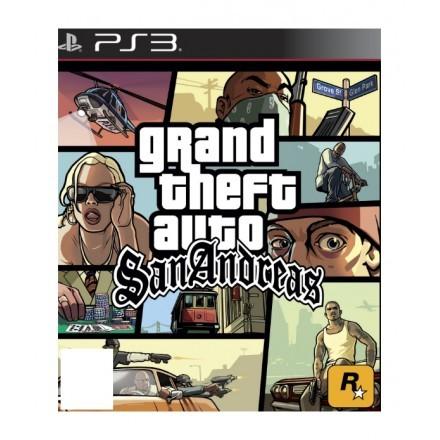 Jogo de vídeo Sony Grand Theft Auto: San Andreas, PS3