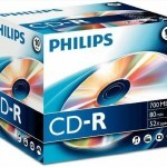 CDs virgens Philips CD-R 700MB