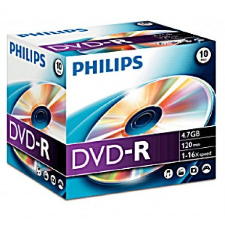DVDs virgens 4,7 GB Philips 8710895887212