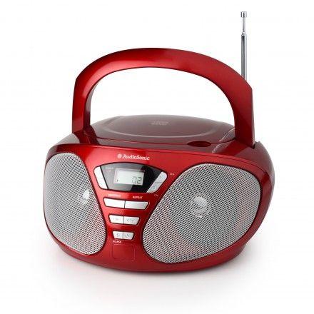 Rádio portátil AudioSonic CD-1568