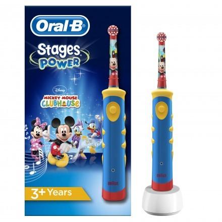 Escova de dentes elétrica Oral-B Kids Mickey Mouse