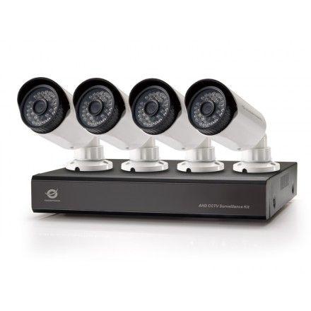 Kit de videovigilância Conceptronic C8CHCCTVKITD