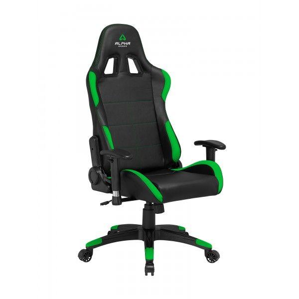 Cadeira Alpha Gamer AGVEGA-BK-GRN