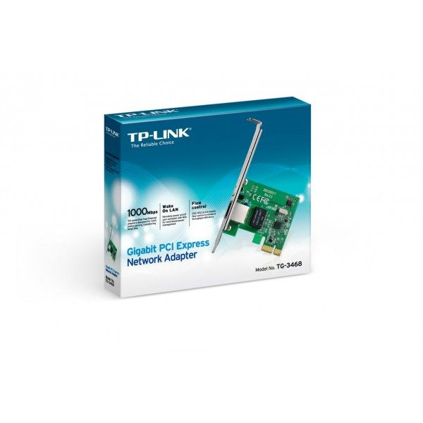 Adaptador Wireless TP-LINK Gigabit PCI-E Netwo TG-3468