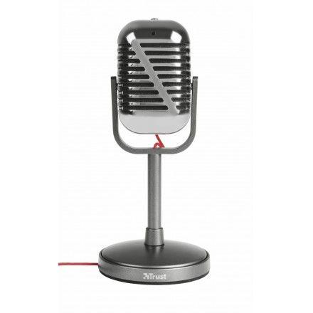 Microfone Trust Elvii Vintage