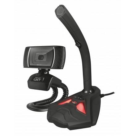 Webcam e micro Trust GTX 786 Reyno