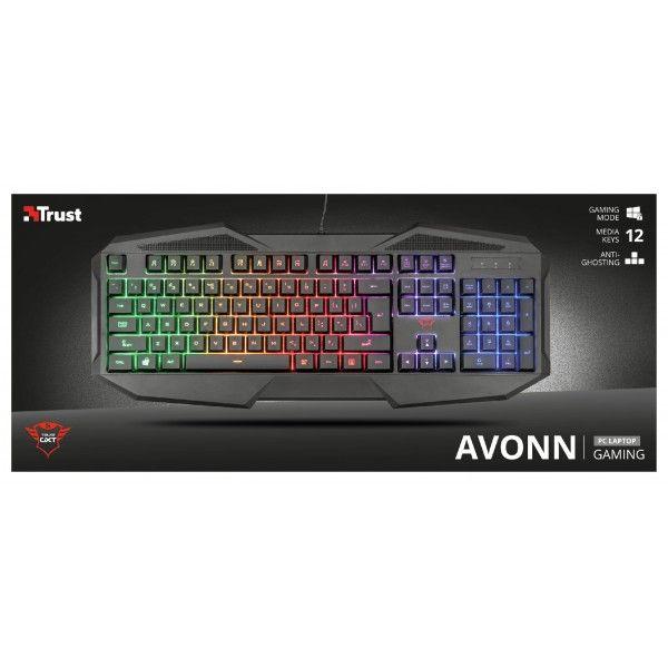 Teclado Gaming Trust GXT 830-RW Avonn