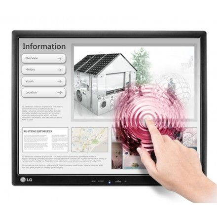 Monitor TouchScreen 17'' LG 17MB15T-B