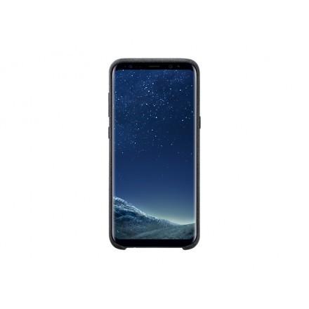 Capa alcantara p/Smartphon: Samsung Galaxy S8+ (Cinzento)