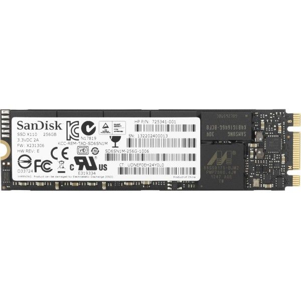 Disco SSD  256GB HP 1CA51AA