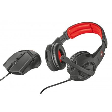 Auriculares e rato Trust GXT 784 Gaming Set 2 in 1