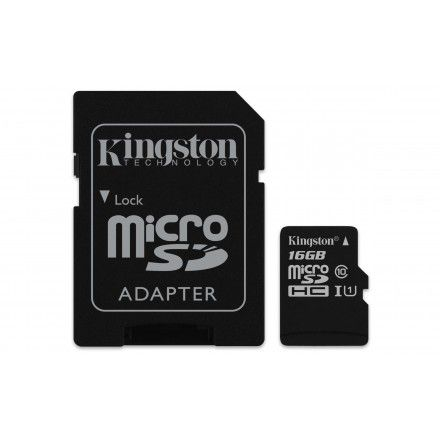 Cartão de memória 16GB Kingston Technology Canvas Select
