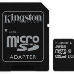 Cartão de memória 32GB Kingston Technology Canvas SELECT SDCS