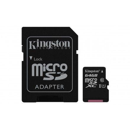 Cartões de memória Kingston Technology SDCS/64GB