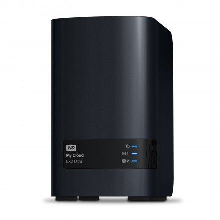 Servidores NAS 8 TB Western Digital My Cloud EX2 Ultra