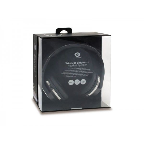Auscultadores Bluetooth Conceptronic  CHSPBTNFCSPKB