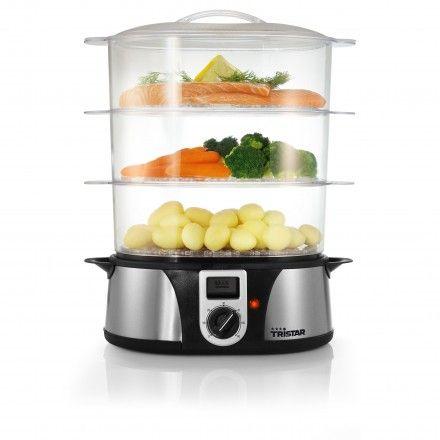 Máquina de cozinha a vapor Tristar VS-3908