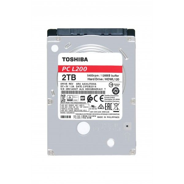 Disco rígido Toshiba L200 2 TB