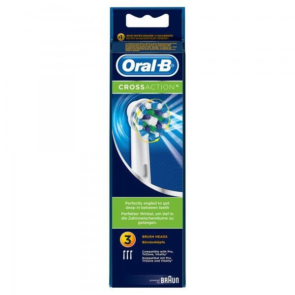 Recarga de cabeças de escova de dentes Oral-B CrossAction