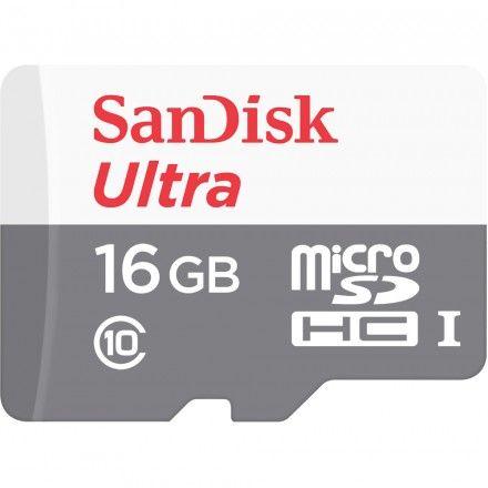 Cartão de memória 16GB Sandisk Ultra SDSQUNS-016G-GN3MA
