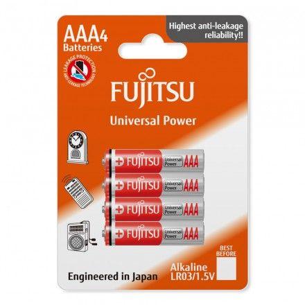 Pilhas não-recarregáveis Fujitsu LR03(4B)FU