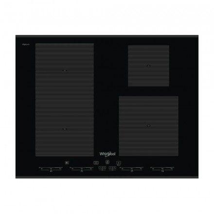Placa de indução Whirlpool SMC 654 F/BT/IXL
