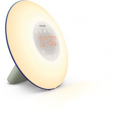 Rádio despertador de luz Philips Wake Up Light HF3506/20