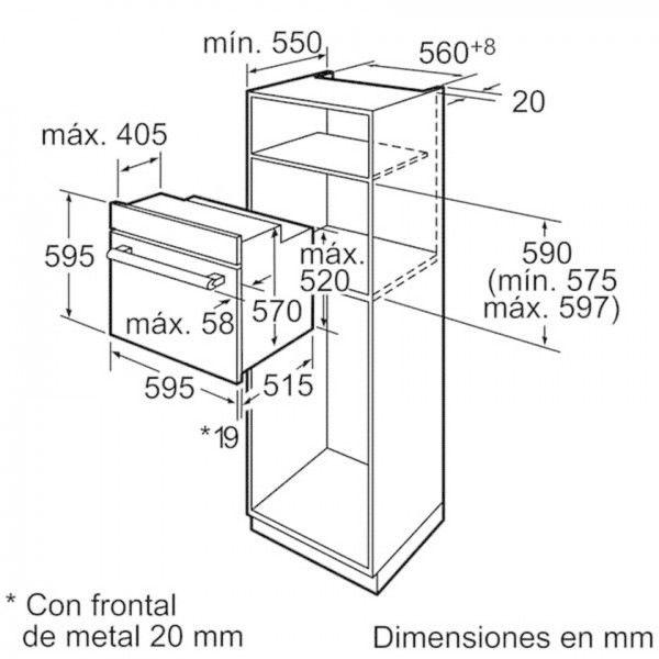 Forno Bosch HBA74S350E