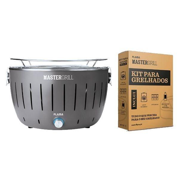 Grelhador FLAMA Mastergrill 40077FL + Kit para grelhados