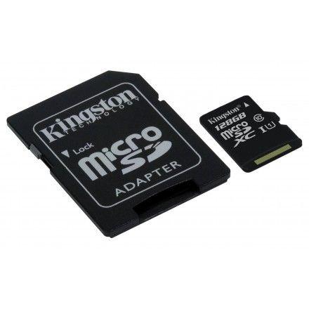 Cartão de memória 128 GB Kingston Technology SDC10G2