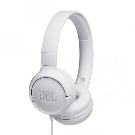 Auriculares para telemóvel JBL JBLT500WHT