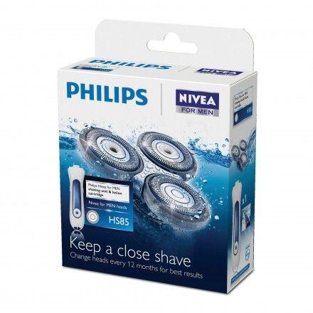 Cabeças para máquina de barbear Philips HS85/40