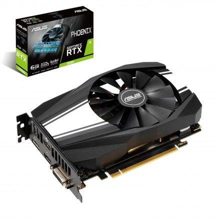 Placa gráfica ASUS RTX2060 Phoenix 6GB