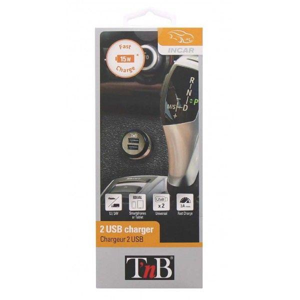 Carregador de dispositivos móveis T'nB ACGPCAR3B