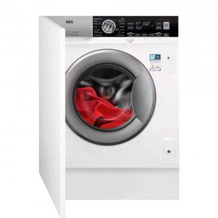 Máquina de lavar e secar roupa de encastre AEG L7WEC842BI