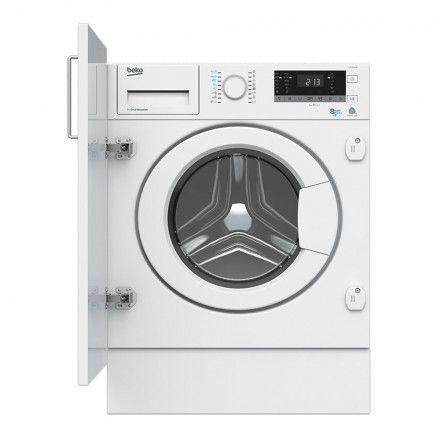 Máquina de lavar e secar de encastre Beko HITV8733B0