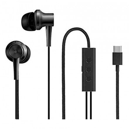 Auscultadores XIAOMI Mi ANC & Type-C In-Ear Earphones Black 15703