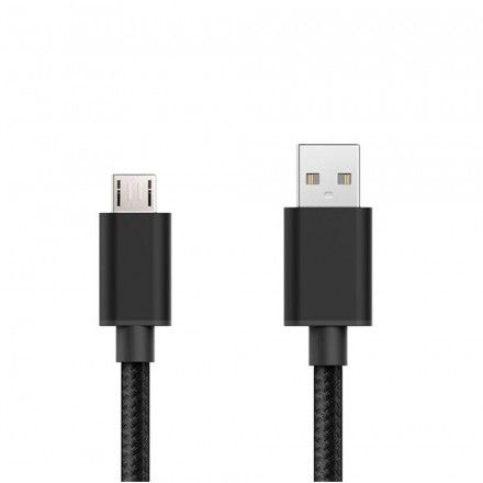 Cabo USB Tech Fuzzion ACECAB0558BK Micro Preto